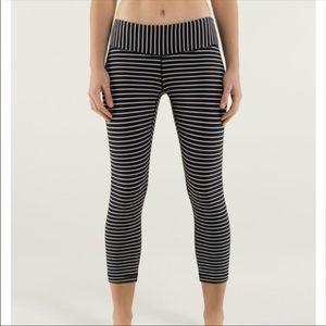Parallel Stripe Lululemon Leggings